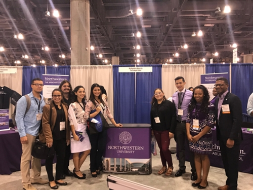 Students attending ABRCMS
